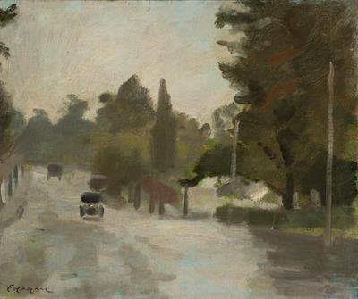 Rain, Studley Park Road