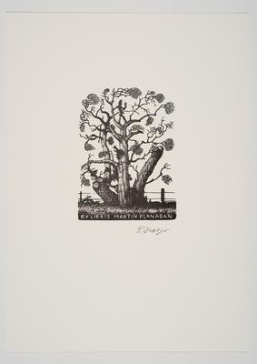 Ex Libris Martin Flanagan