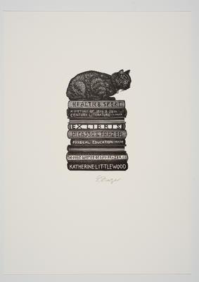 Ex Libris Katherine Littlewood