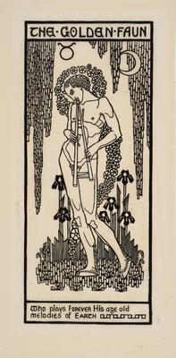 The Golden Faun; work on paper
