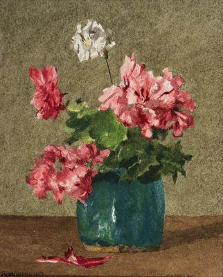 (Flowers in a Vase)