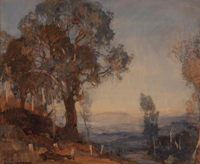 Untitled (Evening Landscape)