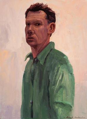 Self-portrait in Green Shirt