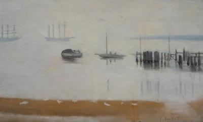 Near Beaumaris; painting