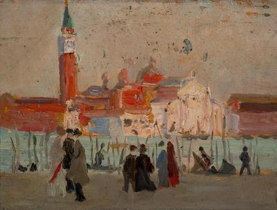 (Venice); painting