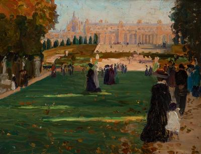 (Luxembourg Gardens); painting