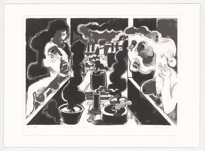 Senbergs Studio; work on paper
