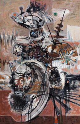 Don Quixote (Ist work of triptych, c.1962)