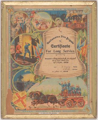 Poster/certificate