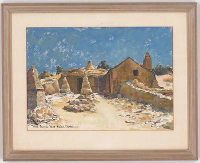 """""""Noah Baker's Cave House. Castlemaine"""";"""