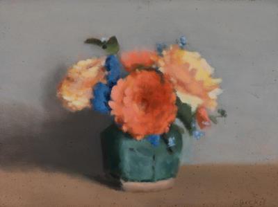 Still Life (Marigolds); painting