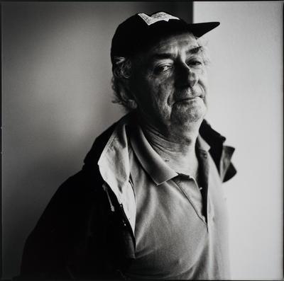 Portrait of Charles Blackman; photograph