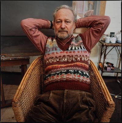 Portrait of Brian Dunlop; photograph