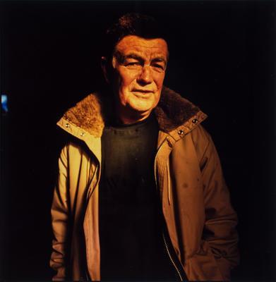 Portrait of Leonard French; photograph