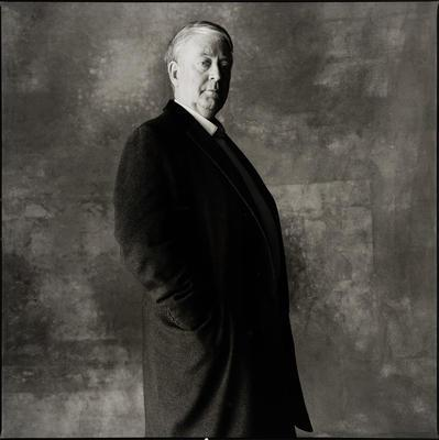 Portrait of Justin O'Brien; photograph