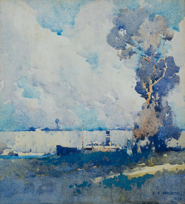 Brisbane River, 1909