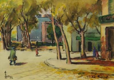 In Paris (Corner of Ave Bosquit)