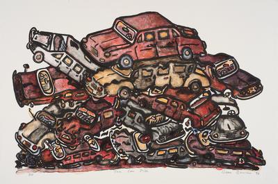 The car pile