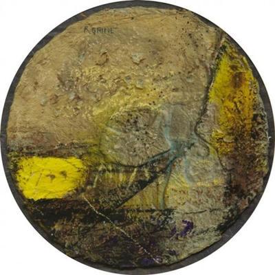 (Circular abstract)