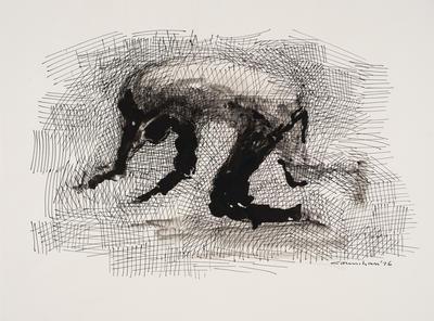 Untitled (Falling man)