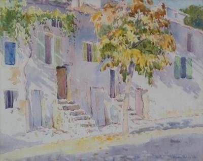 October Morning, Sospel, France