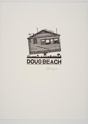 Ex Libris Doug Beach