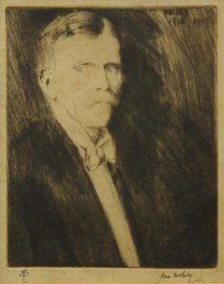 Portrait of Frank Gibson