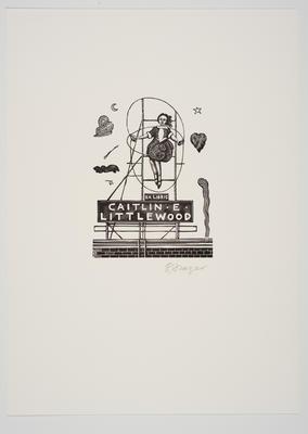 Ex Libris Caitlin E. Littlewood