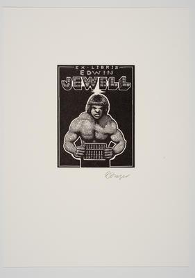 Ex Libris Edwin Jewell