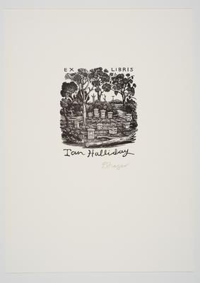 Ex Libris Ian Halliday