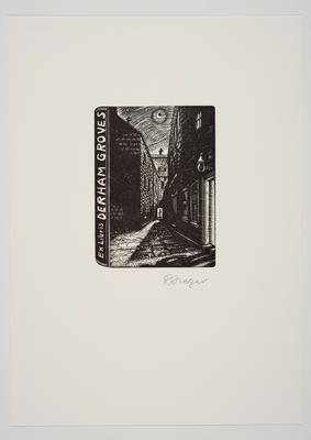 Ex Libris Derham Groves