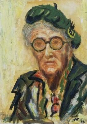 Portrait of Jessie Traill