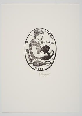 Ex Libris Hendrikje Krone