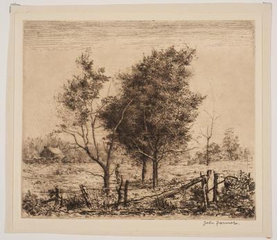 Blackwoods; work on paper/print
