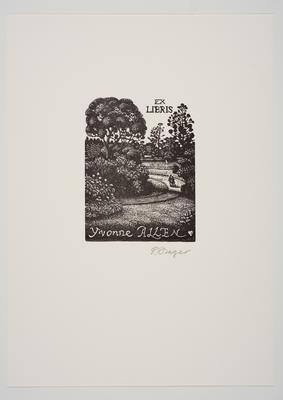 Ex Libris Yvonne Allen
